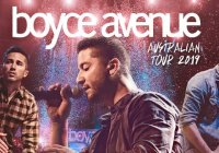 Boyce Avenue 2019 Tour