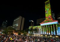 Gold Lotto City Hall Light Spectacular