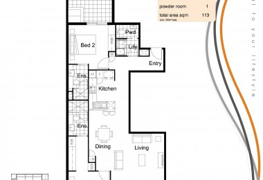 South Central Floorplan Type J