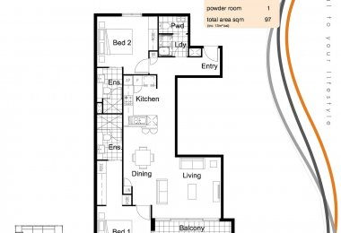 South Central Floorplan Type J 2