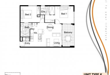 South Central Floorplan Type K